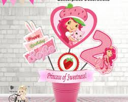 strawberry shortcake party supplies strawberry shortcake party supplies