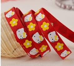 grosgrain ribbon bulk wholesale bulk lot bow cat and flower grosgrain ribbon diy hair