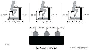 kitchen island stool height standard bar height bar stool height for kitchen island beautiful