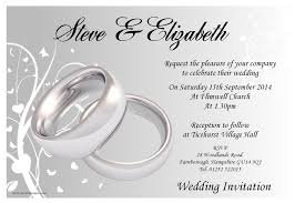 Invitation Card With Photo Wedding Invitations Templates Kawaiitheo Com