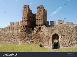 ruins old castle smederevo on danube stock photo 7566577