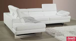 Modern Leather Sofas For Sale Modern White Leather Entrancing White Leather Sofa Home Design Ideas