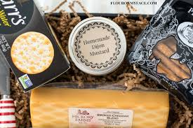 cheese and sausage gift baskets easy cheese and sausage gift basket flour on my