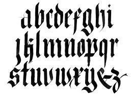 xavier cervelló lower case calligraphy alphabet letterform