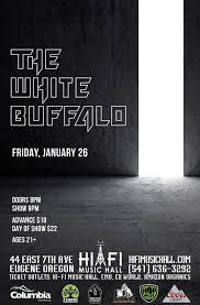 amazon black friday tickets the white buffalo u2013 tickets u2013 hi fi music hall u2013 eugene or