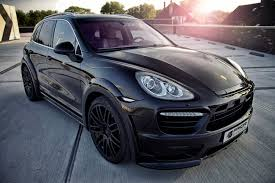 porsche widebody rear prior design porsche cayenne ii wide body kit