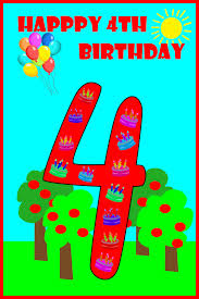 happy 4th birthday to my birthday party ideas for kids