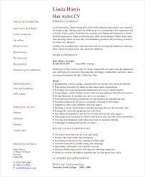hair stylist resume template hairstylist resume templates hair stylist assistant resume exle
