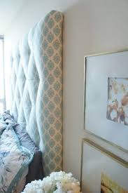 Wall Mounted Headboard How To Make A Simple Fabric Headboard Wall Mounted Headboard
