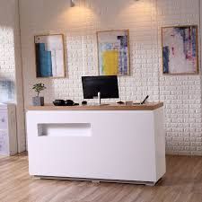 Simple Reception Desk Desk Simple Modern Cashier Paint Salon Counter Clothing