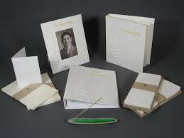 funeral stationery made memorial funeral stationery sets