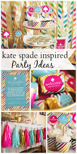 43 best kate spade babyshower images on pinterest parties kate baby shower