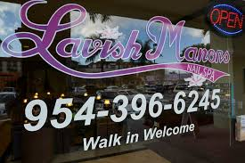 lavish manors nail spa gallery fort lauderdale manicure photos