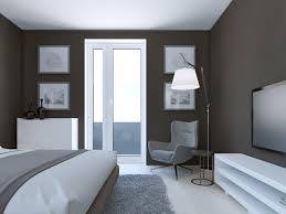 chambre taupe et blanc couleur taupe et vert anis