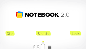 notebook 2 0 clip the web sketch ideas lock your notes zoho blog