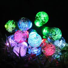 solar powered string lights 12pcs led bulb light solar powered string lights decoration for