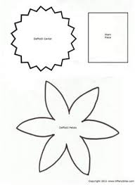 tissue paper flowers printable instructions daffodil 3d paper flower on craftsuprint designed by sandie burchell