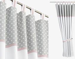 Grey And White Nursery Curtains Dotty Grey Curtains Recyclenebraska Org