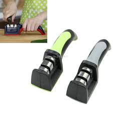 2 stages diamond ceramic kitchen knife sharpeners sharpening stone
