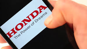 honda logos famous car brands and car logos on smartphone screen dodge