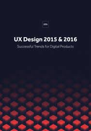 home design books 2016 ux design trends 2015 2016 free e book
