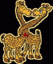 imagenes de amistad jirafas 12 imágenes en movimiento para san valentin