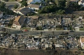 Wildfire Near Julian Ca by List California U0027s Most Destructive Wildfires Nbc Southern