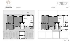 maisonette floor plan al ghadeer floor plans