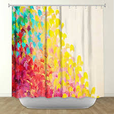 Colored Shower Curtain Colorful Shower Curtains Creatively Colorful Shower Curtains Hgtv