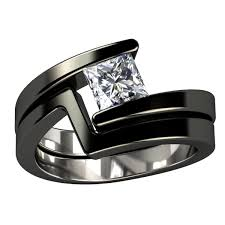 titanium wedding ring sets titanium wedding ring sets wedding rings wedding ideas and