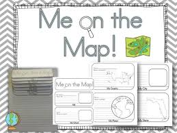 me on the map activity with blank templates for other use