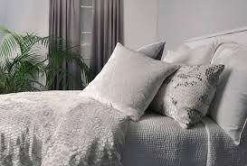 snakeskin white velvet bedding by kevin o u0027brien studio