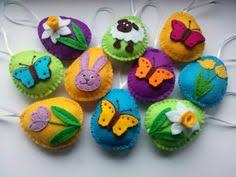 felt easter eggs dusi ustvarja easter decoration part 2 daffodils these felt
