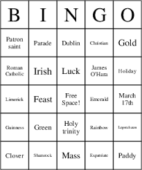 s day bingo st s day bingo cards