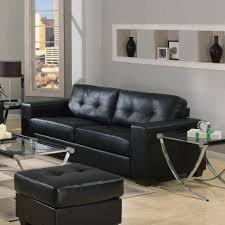 Black Living Room Ideas by Modern Minimalist Living Room Interior Glass Top Table Black Sofas