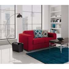 Red Sofa Set Png Ava Fabric Compact Sofa Red Furnico Village