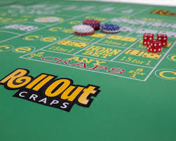 Craps Table Rollout Gaming Craps Table Top