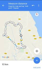 Google Maps Measure Distance How To Plan Running Route With Google Maps Saifulrizan