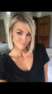 hairstyles for short highlighted blond hair hair color trends 2017 2018 highlights short blonde hair krissa