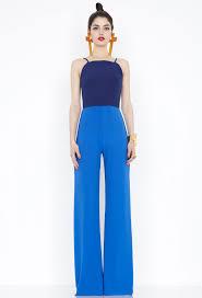 wide leg jumpsuits aq aq blue wide leg jumpsuit