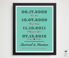 paper anniversary gifts for husband custom 1st paper anniversary present s