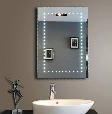 bathroom mirror with led lights bathroom mirrors with led lights intended for home iagitos com