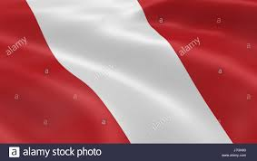 Honor Flag Flag Honor National Peru Patriot Patriotism Peruvian White
