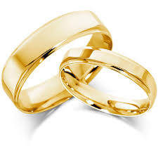 marriage rings the charm of yellow gold wedding rings cherry