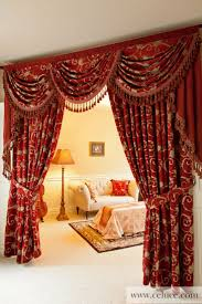 curtains curtain for house amazing red paisley curtains