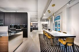 furniture in the kitchen new varenna kitchen gallery launch in singapore more space magazine