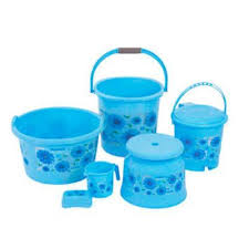 plastic bathroom accessories wholesale trader from ahmedabad