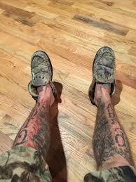 shin tatoos cowboy cerrone on twitter