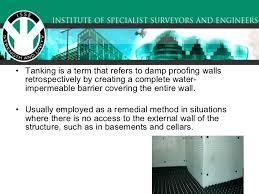 Basement Tanking Methods - basement tanking