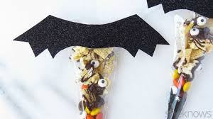 diy chex treat bag gives halloween a spooky crunch